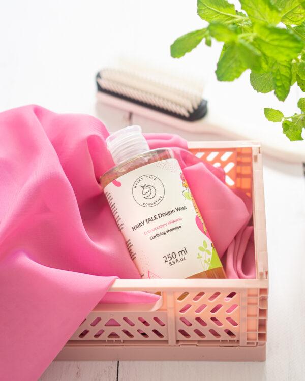 hairy tale cosmetics dragon wash mocno oczyszczający szampon 250 ml