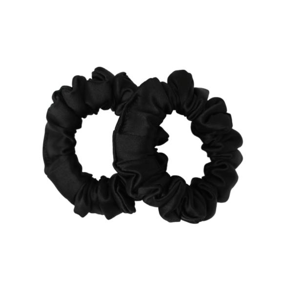 mini hairy tale hairwear scrunchie pure coal