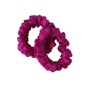 mini hairy tale hairwear scrunchie rosa canina