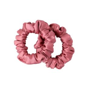 mini hairy tale hairwear scrunchie rosa celeste