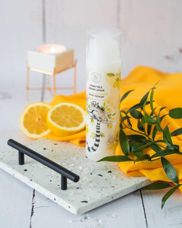 hairy tale cosmetics lemon lemur proteinowy żel do loków