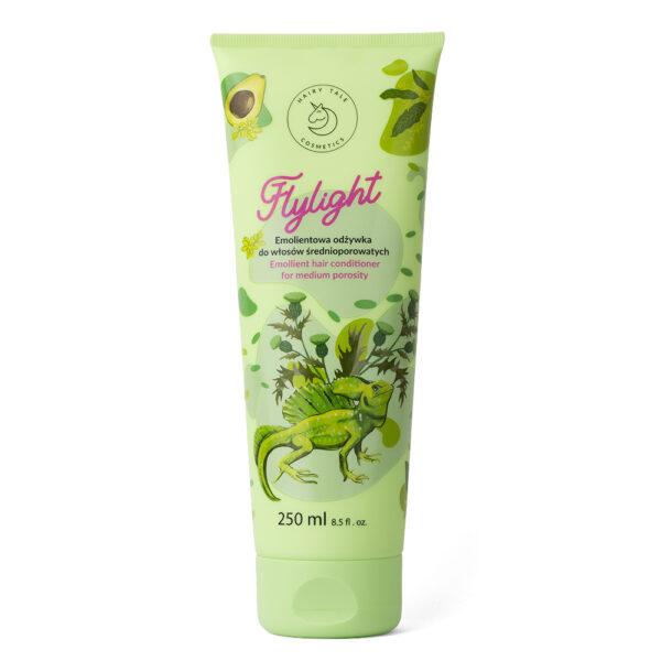 hairy tale cosmetics flylight emolientowa odżywka do włosów średnioporowatych
