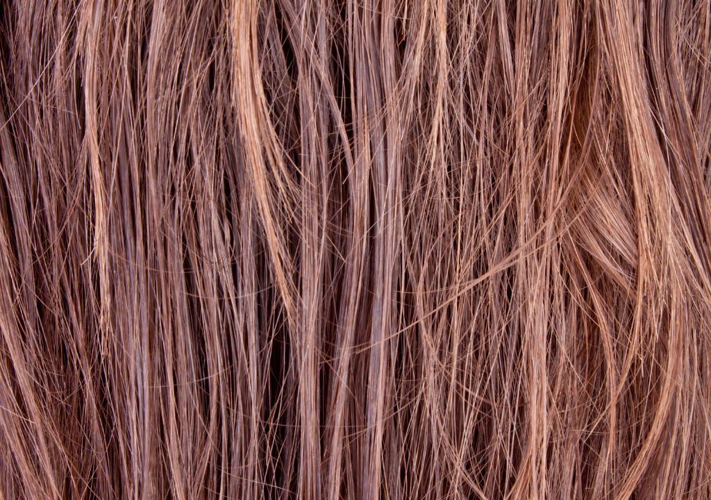 strączkowanie się włosów